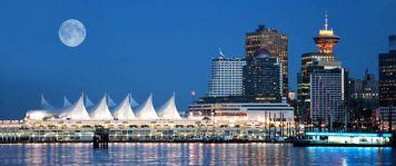Вид на  Ванкувер с океана