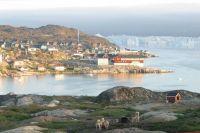 Вид на Илуллисат (Ilullisat) и Ice Fjord
