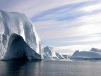 Ледовые айсберги в районе Нарсака