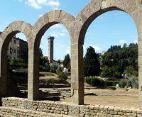 Фьезоле, римские руины