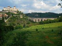 Замок Рокка-Альборноциана и мост Понте делле Торри