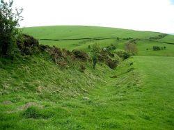 Вал Оффы (Offa's  Dyke), граница Англии с Уэльсом