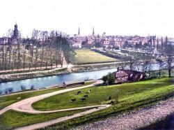 Городок Шресбери (Shrewsbury) в Welsh Marches