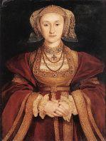 Официалльный портрет Анны Клевской