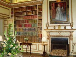 Интерьер одного из залов замка Лидс