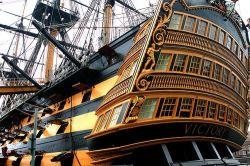 Виктория, флагманский корабль  адмирала Нельсона