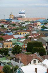 Живописные разноцветные крыши Пунта-Аренаса