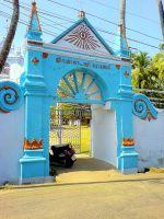 Вход в храм в Кочине