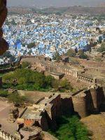 Вид на город с форта Джодпура
